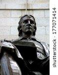 John Harvard's Statue In The...