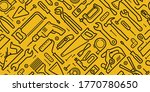 tools seamless background.... | Shutterstock .eps vector #1770780650