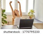 portrait of an attractive woman ...   Shutterstock . vector #1770795233