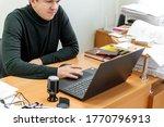 businessman at work. close up...   Shutterstock . vector #1770796913