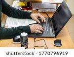 businessman at work. close up...   Shutterstock . vector #1770796919