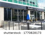 Small photo of EDMONTON, ALBERTA/CANADA- June 4th 2020. Earl's kitchen and bar, 8629 112 st NW Edmonton. Earl's is a family owned dining chain that operates a total of 68 restaurants in Canada and the United States