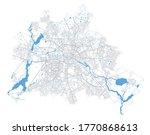 Berlin Map. Detailed Vector Map ...