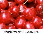 bunch of fresh  juicy  ripe... | Shutterstock . vector #177087878