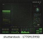 Green Hud  Gui Futuristic...