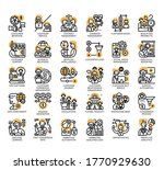 set of customer relationship... | Shutterstock .eps vector #1770929630