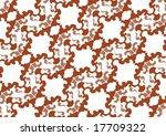 decorative wallpaper design in... | Shutterstock .eps vector #17709322