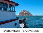 A Ship Docked At Morro Bay...
