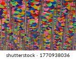 cealing decorated with... | Shutterstock . vector #1770938036
