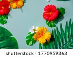 Artificial Hibiscus Flowers An...
