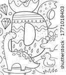Coloring Page Alphabet For Kids ...