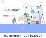 pharmacy flat landing page...