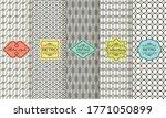 set of seamless geometric...   Shutterstock .eps vector #1771050899
