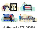 professional equipment for... | Shutterstock .eps vector #1771080026