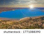 The Dam Next To Gaborone The...