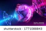abstract tech vector background....   Shutterstock .eps vector #1771088843