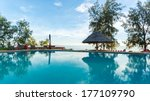 A Swimming Pool Overlooking Th...