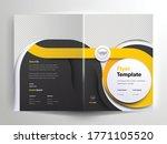 vector brochure layout  flyer... | Shutterstock .eps vector #1771105520