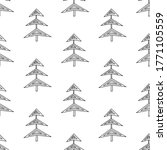 seamless pattern made from... | Shutterstock .eps vector #1771105559