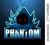 Phantom Mascot Esport Logo...