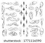 set of decorative elements for... | Shutterstock .eps vector #1771116590