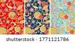 beautiful japanese pattern 3...   Shutterstock .eps vector #1771121786