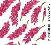 tropical flowers seamless... | Shutterstock .eps vector #1771123343