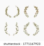 floral frames and borders... | Shutterstock .eps vector #1771167923