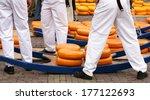 Dutch Cheese Market   Alkmaar