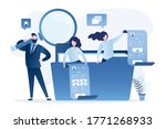 search for files and documents. ... | Shutterstock .eps vector #1771268933