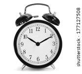 a typical mechanical alarm... | Shutterstock . vector #177127508