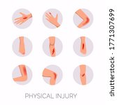 human body physical injury... | Shutterstock .eps vector #1771307699