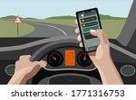 vector illustration of texting... | Shutterstock .eps vector #1771316753
