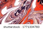 fluid art. vector. abstract...   Shutterstock .eps vector #1771334783