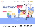 investment flat landing page...
