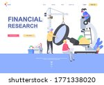 financial research flat landing ...
