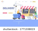 delivery flat landing page...