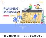 planning schedule flat landing...