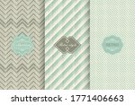 set of geometric textures with... | Shutterstock .eps vector #1771406663