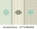 set of geometric textures with... | Shutterstock .eps vector #1771406666