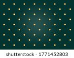 Green Background  Gold Circle...