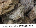 Stone Shabby Rocks And...