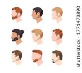 set vector illustration of men... | Shutterstock .eps vector #1771473890