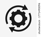 setting  rotate gear icon...