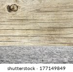 wooden fence rough background... | Shutterstock . vector #177149849