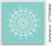 mandala decoration  geometric... | Shutterstock .eps vector #1771506860