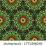 ornamental mandala design... | Shutterstock .eps vector #1771508240
