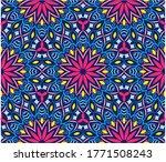 ornamental mandala design... | Shutterstock .eps vector #1771508243