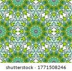 ornamental mandala design... | Shutterstock .eps vector #1771508246