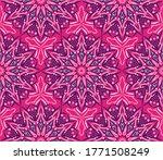 ornamental mandala design... | Shutterstock .eps vector #1771508249